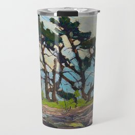 Tom Thomson - Pine Island - Canada, Canadian Oil Painting - Group of Seven Travel Mug