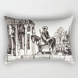 Fisherman's Bastion  Rectangular Pillow