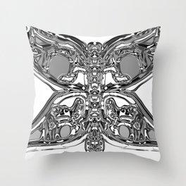 Butterfly Effect Throw Pillow