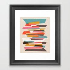 Fragments VII Framed Art Print