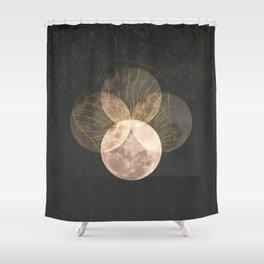 Full Moon Shower Curtain
