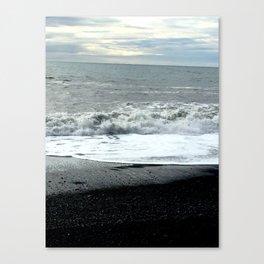 Icelandic waves Canvas Print