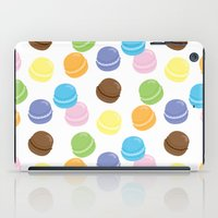 macaron iPad Cases featuring Macaron Frenzy by April Marcuzzo