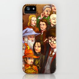 Wicked Wizards iPhone Case