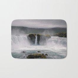 Waterfall 02 - Iceland Bath Mat