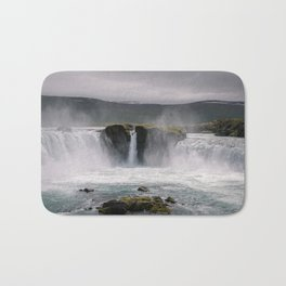 Waterfall 02 - Iceland Bath Mat
