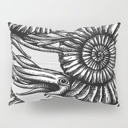 AMMONITE COLLECTION B&W Pillow Sham