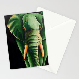 Green with Envy Stationery Cards