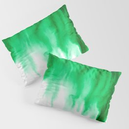 Emerald Bleed Pillow Sham