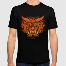 Foo Dog LARGE Black Mens Fitted Tee