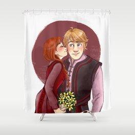 Valentines Day Shower Curtain