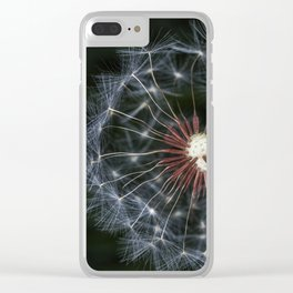 Dandelion seeds Clear iPhone Case