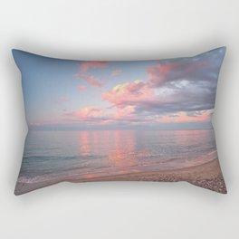 Pink Skies at Night, Vertical Layout Rectangular Pillow