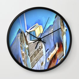 Junkers Ju 52 Pop Art Wall Clock