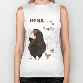 Happy Hens Biker Tank