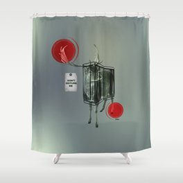Nightswim Shower Curtain