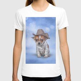 Drawing Puppy Chihuahua T-shirt