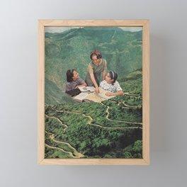 Geography Framed Mini Art Print