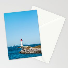 Le Phare/The Lighthouse Stationery Cards