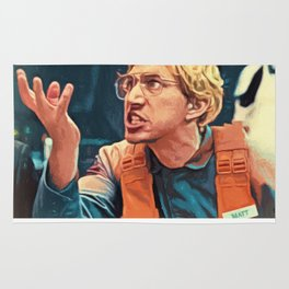 Kylo Ren Goes Undercover as Matt the Radar Technician Rug