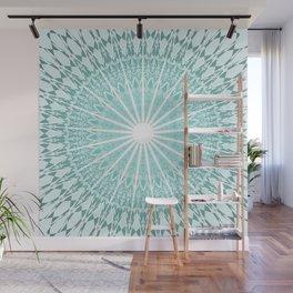 Mint Mandala Wall Mural