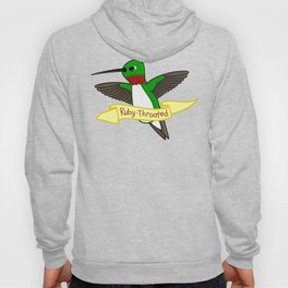 Ruby-Throated Hummingbird Hoody