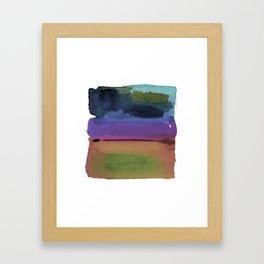 Meditations No.26i by Kathy Morton Stanion Framed Art Print