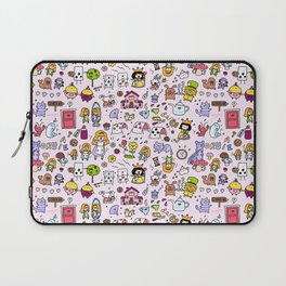 Alice in Doodleland Laptop Sleeve