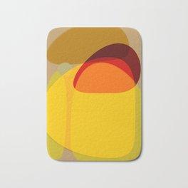 Orange, Yellow and Green Bath Mat