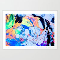 sonic youth Art Prints featuring sonic by blair__berger