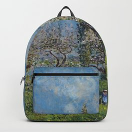 Alfred Sisley - Orchard In Spring Backpack