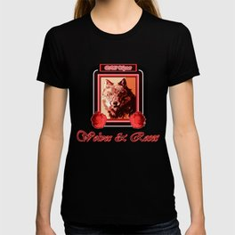 Wild Spirit - Wolves and Roses T-shirt
