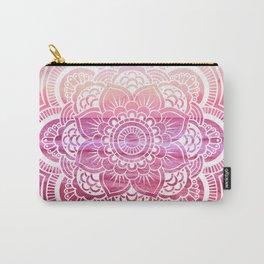 Water Mandala Hot Pink Fuchsia Carry-All Pouch