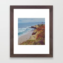 La Jolla Shores Framed Art Print