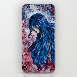 Wind in my hair iPhone Skin