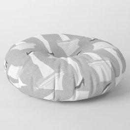 Leg Lamp Grey Floor Pillow