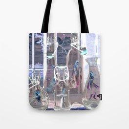 Bottled Mermaids Tote Bag