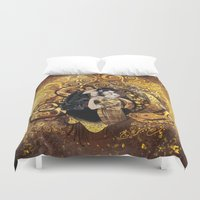sterek Duvet Covers featuring The Sterek Kiss by MGNemesi
