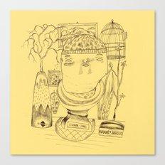 Signor James' Mistery Canvas Print