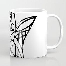Hamsa (Black/Grey) Coffee Mug