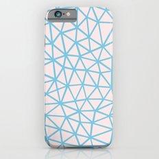 Seg Blue Pink iPhone 6s Slim Case