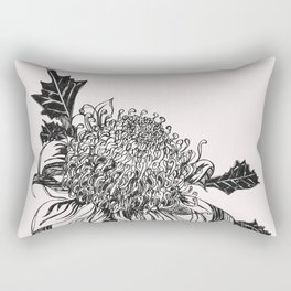 Australian waratah native flower Rectangular Pillow
