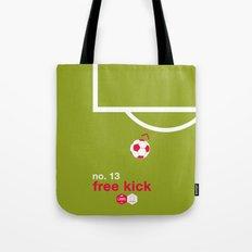 Free Kick (No. 13) Tote Bag