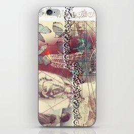 Arabian Collage #1 iPhone Skin