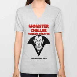Monster Chiller Horror Theater Unisex V-Neck