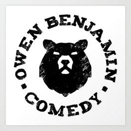 Owen Benjamin Comedy Art Print