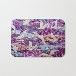 Elegant Birds of the Same Feather Bath Mat