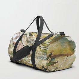 Golden Collar Duffle Bag