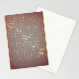 Beckett Bingo Stationery Cards