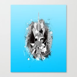 Comes from the Heart Canvas Print